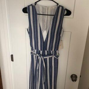 Tularosa stripe jumpsuit